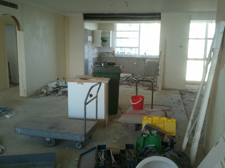 From the lounge to the dining, kitchen area
