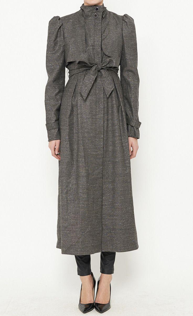 Mink Grey Coat   VAUNTE