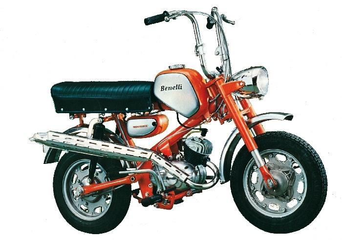 Benelli Mini Bike 70 (Pesaro Style)