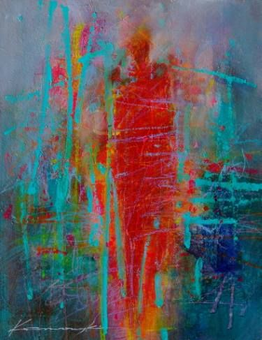 "Saatchi Art Artist Antoni Karwowski; Painting, ""On the walk"" #art"