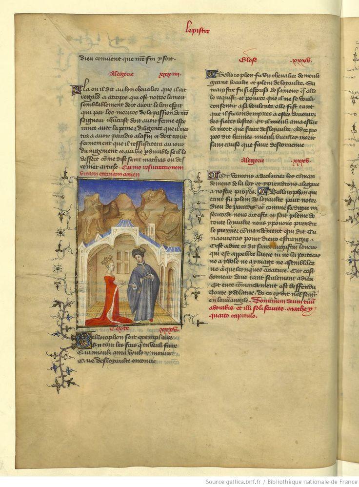 L'Epistre Othea à Hector, fol 17v