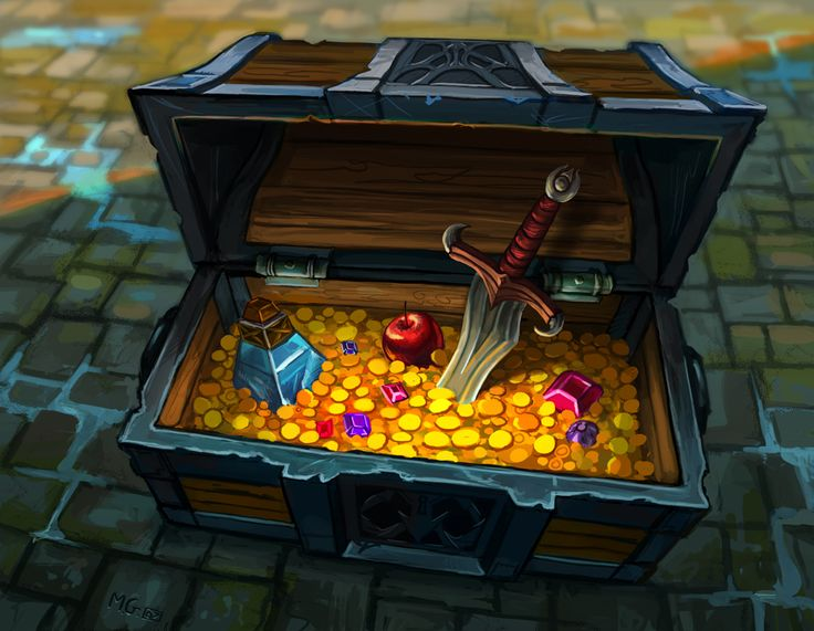 Treasure Chest by Matt Gaser. the loot of a thief