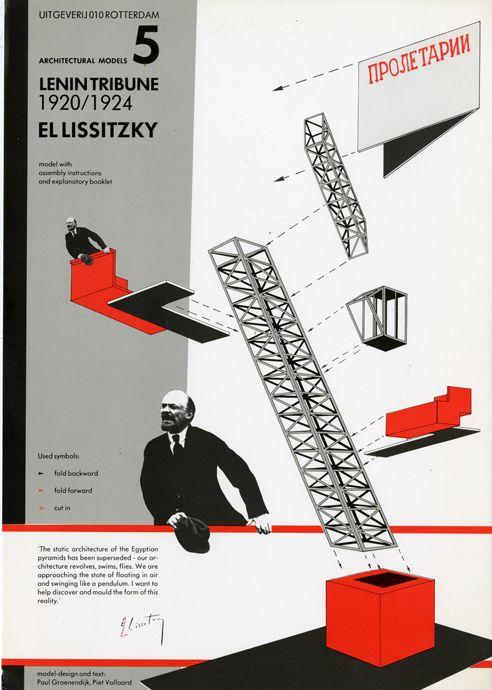Lenin Tribune El Lissitzky