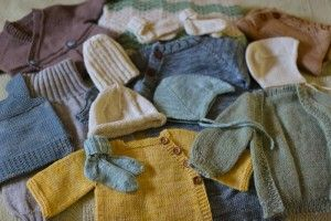 Favorite Baby Knitting Patterns, via Ginny of Small Things - lovely ideas for gifting or #knitting for your own little one.