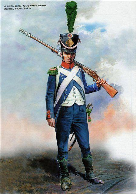 NAP- France: Fusilier 13th French Light Infantry, by Aleksandr Yezhov.
