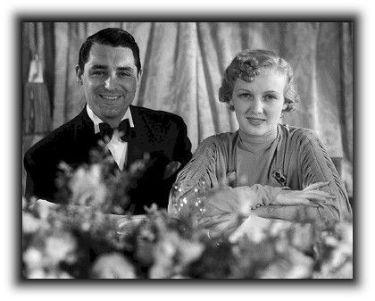 Cary Grant and Virginia Cherrill married February 2, 1934 - March 20, 1935