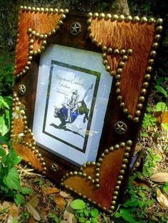 diy country western picture frames - Google Search