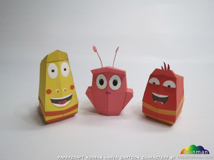 larva cartoon doll - Google Search