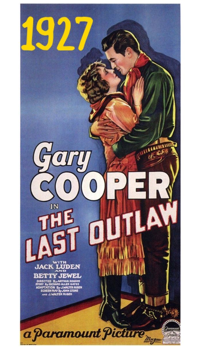 Gary Cooper in The Last Outlaw