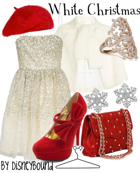 I only like the dress & shose, which I am in total love with.