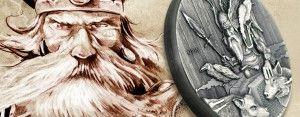 """Neue Silbermünzen der Serie """"Vikings"""""""