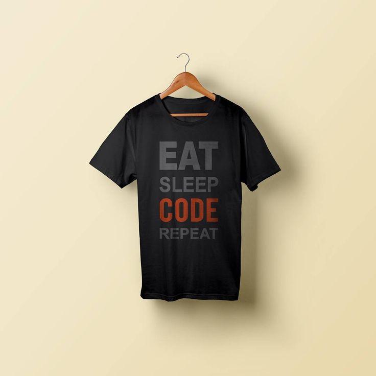 "T-Shirt Programmer Edition Code : ESC ""Eat Sleep Code"" (IDR 100K)  come on grab it fast   #linux #debian #java #javascript #ruby #developer #webtorrent #programmer #programming #kalilinux #redhat #server #opensource #hacker #hipster #manjaro #node #nodejs #opensuse #black #script #text #notext #no #snake #python #piratebay"