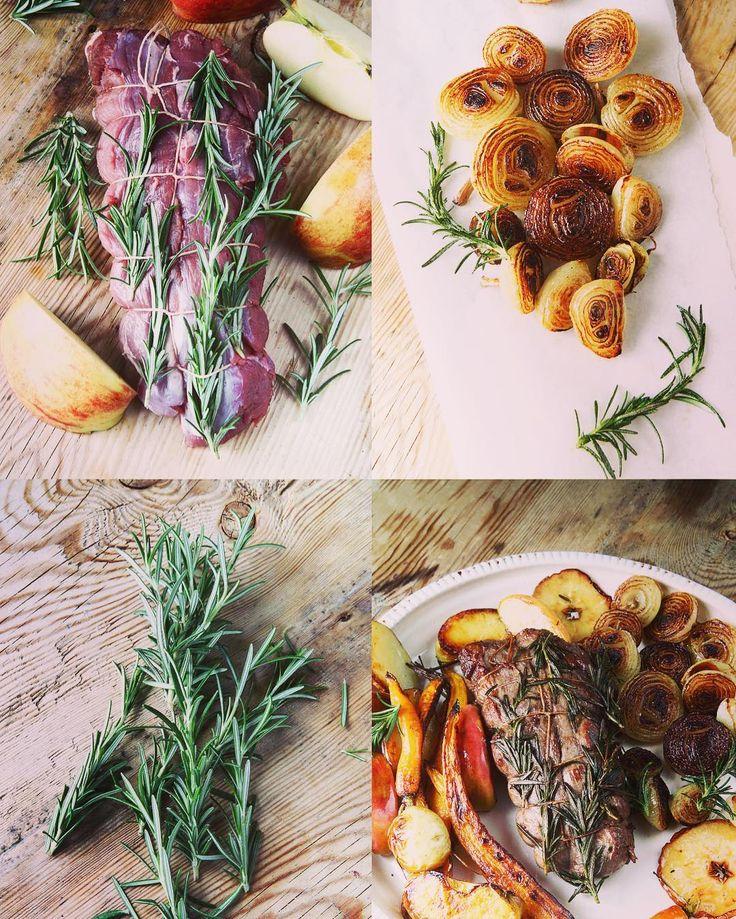 Påsksteken den vilda versionen. Ett innanlår av vildsvin .Ugnsrostade rotfrukter rosmarin och en smörsky på fond och äppelmust. Vill du veta mer så finns recept på bloggen och på min FB sida. Länk hittar du på min profilsida här på Instagram. Och en Glad påsk alla! #jägare #jakt  #vilt  #vildsvin  #viltkött  #matfoto  #matblogg  #matbilder  #matälskare  #matlagning #food  #foodie  #foodies  #foodpic  #foodphotography  #foodblog #foodstagram  #instafood by skogtillbord