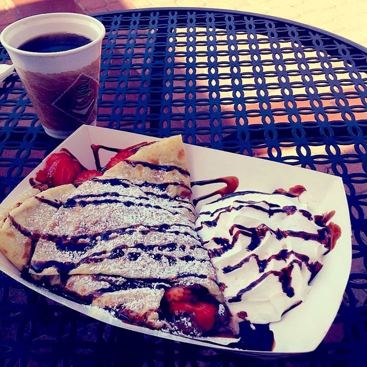 Photo of Krafty Krepes - La Jolla, CA, United States. Nutella strawberry crepe
