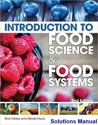 25 best solutions manual download images on pinterest calculus solutions manual for introduction to food science and food systems 2nd edition by parker ibsn 9781435489394 fandeluxe Choice Image