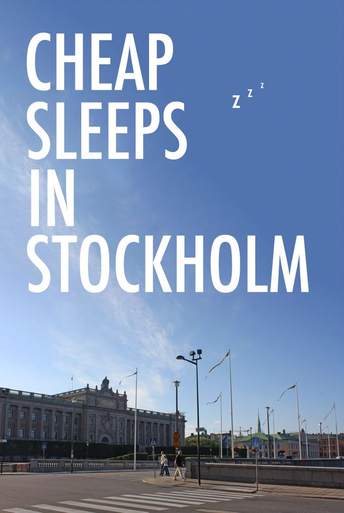 Our guide to enjoying cheap sleeps in Stockholm –from lively hostels to dream-inducing hotels.