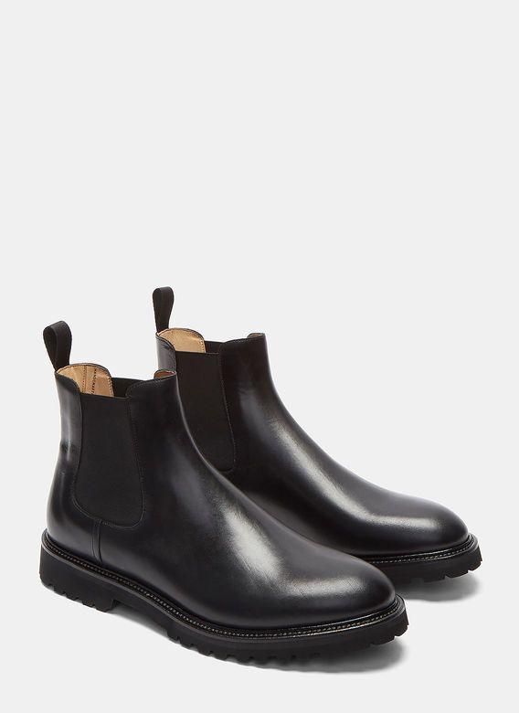 Men's Designer Boots | Find more at LN-CC - Vibram Soled Chelsea Boots