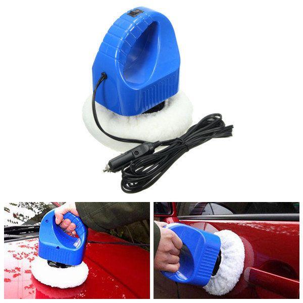 12V Car Wax Polishing Buffer Machine Glazing Mini Tool Kit for Auto Truck Home Use