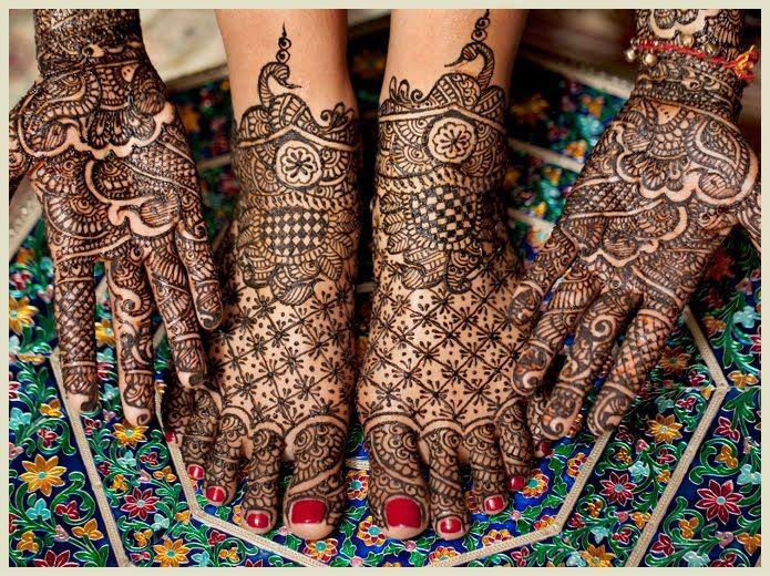 Hindu wedding prep