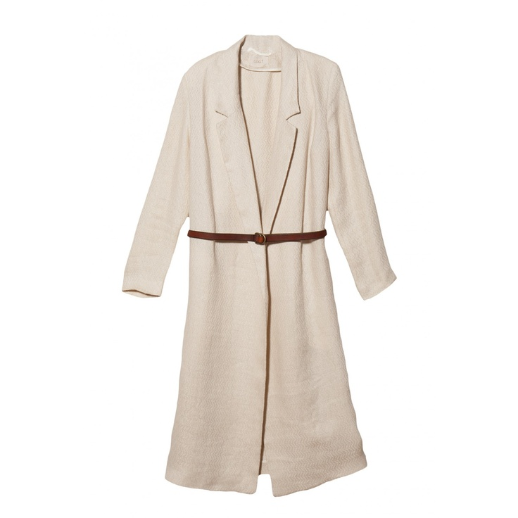 Giada Forte	Jacquard Linen Coat: Clean Only, Jacquard Linens, Catalog, Forte Jacquard, Dry Clean, Coats Features, Wear Size, Models Wear, Linens Coats