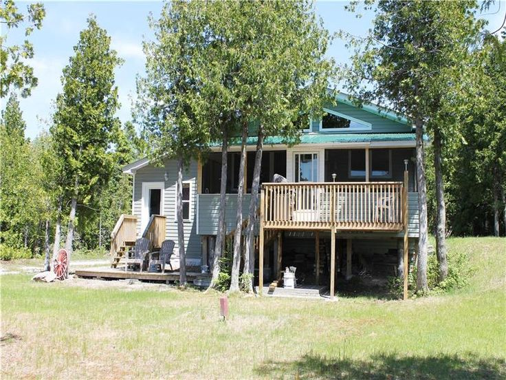 Newly built on beautiful Lake Huron on Manitoulin Island! - Spring Bay Cottage for Sale - FS-22630