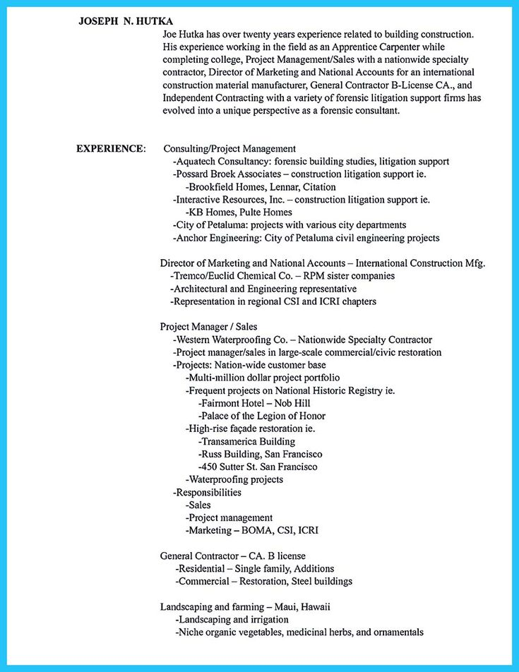 Carpenter Resume Nice Tips You Wish You Knew To Make The Best Carpenter Resume