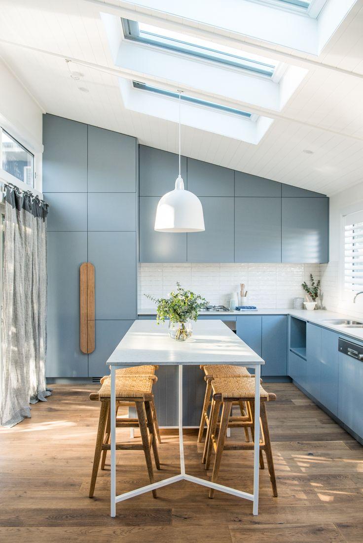 A light filled kitchen.