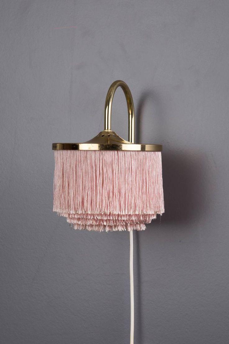 Hans Agne Jakobsson Brass Wall Lamp, Markaryd, Sweden, Scandinavian 6