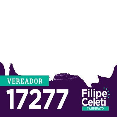 Eu Voto Filipe Celeti - Campanha de Apoio | Twibbon