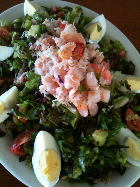 Ode to Summer Solstice- Crab & Shrimp Louie (Salad) | my Barbarian Table