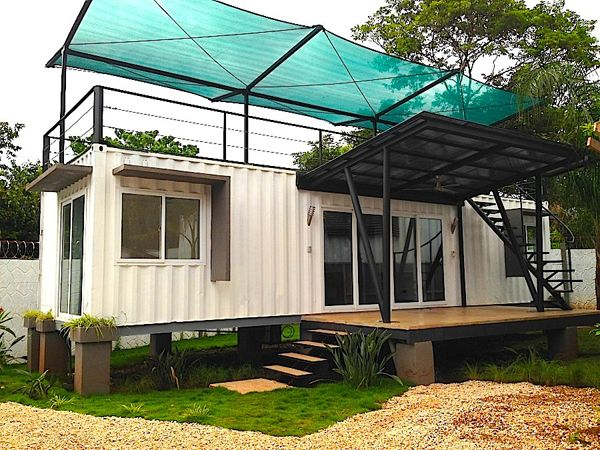 Shipping Container Homes Book Series – Book 131 - Shipping Container Home Plans - How to Plan, Design and Build your own House out of Cargo Containers #containerhome #shippingcontainer