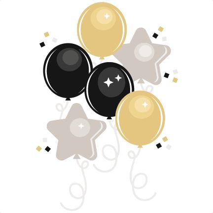 Daily Freebie 12-28-14: Miss Kate Cuttabels--New Year's Eve Balloons svg cutting files for scrapbooking cute clip art balloon clipare free svg cut files