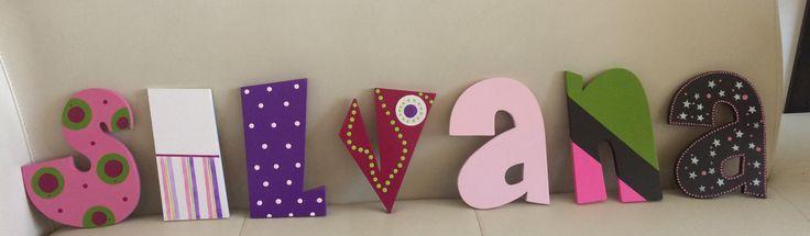 Letreros decoración de habitaciones
