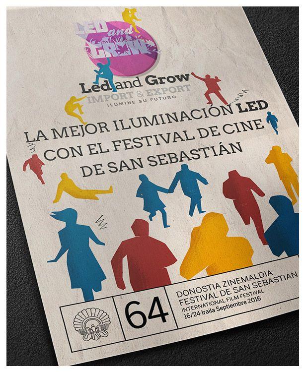 #Ilumínate con los mejores #leds en https://ledandgrow.com y con el mejor #cine en http://www.sansebastianfestival.com