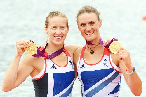 Team GB Medals 2012  04. Helen Glover and Heather Stanning - GOLD  (Rowing: Women's Pair
