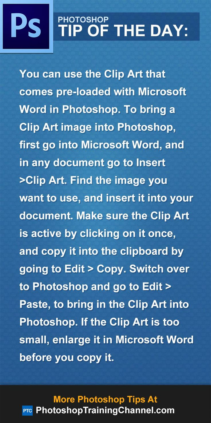 Use Clip Art From Microsoft Word
