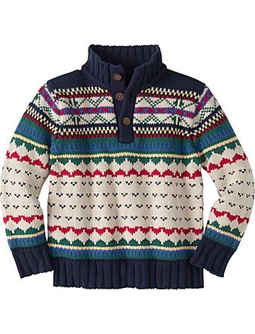 forest fair isle sweater <3