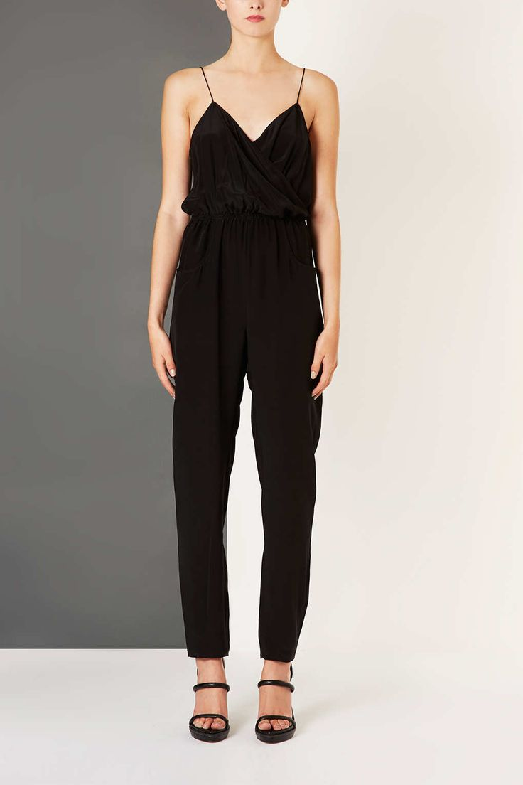 Black Silk Jumpsuit Photo Album - Reikian