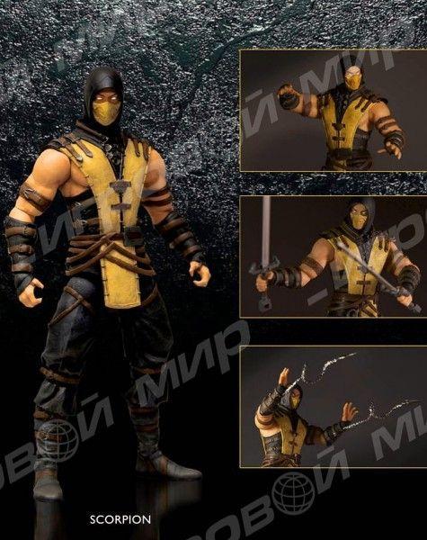 Mortal Kombat X. Scorpion. Фигурка 15 см (Mezco Toyz)