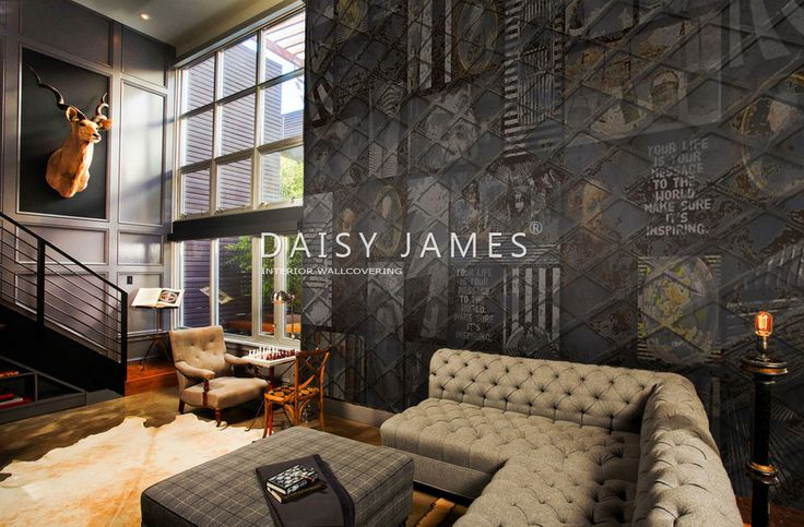 DAISY JAMES wallcover The Message