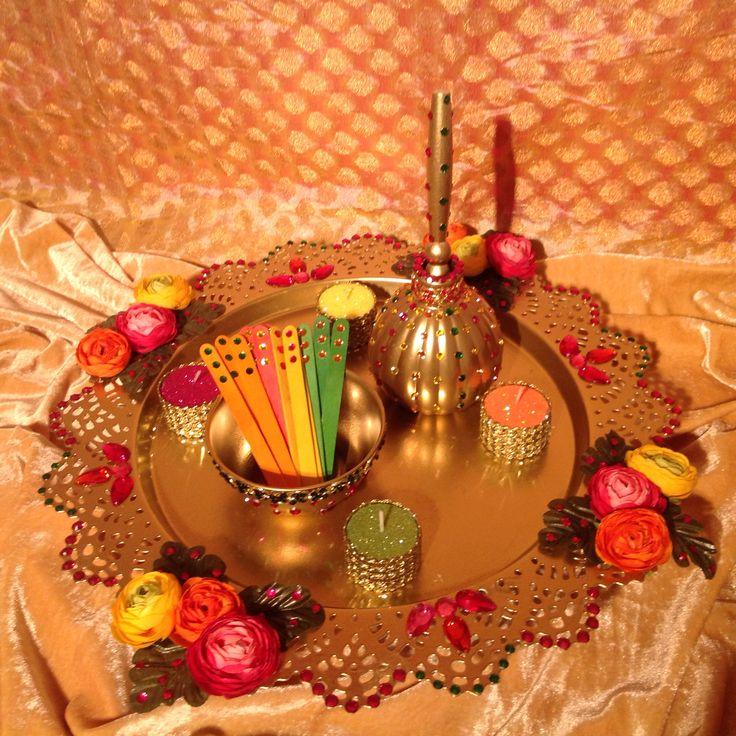 Mehndi Decoration Dailymotion : Best images about mehndi plates on pinterest