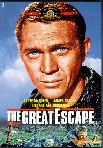 The Great EscapeGreat Movie, Escape 1963, Favourite Film, James Garner, Steve Mcqueen, Stevemcqueen, The Great Escape, Favorite Movie, Classic