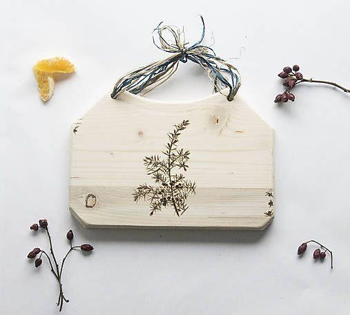 DIY handmade ChopperArt natural kitchen   ChopperArt / Drevený lopár - borievka obyčajná