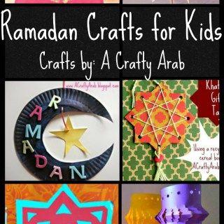 """6 Ramadan Crafts from """"A Crafty Arab"""" Ramadan Crafty Challenge Series"""