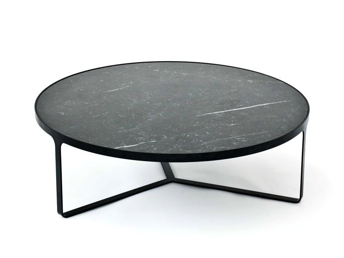Cage Round Table Low by Gordon Guillaumier for Tacchini.