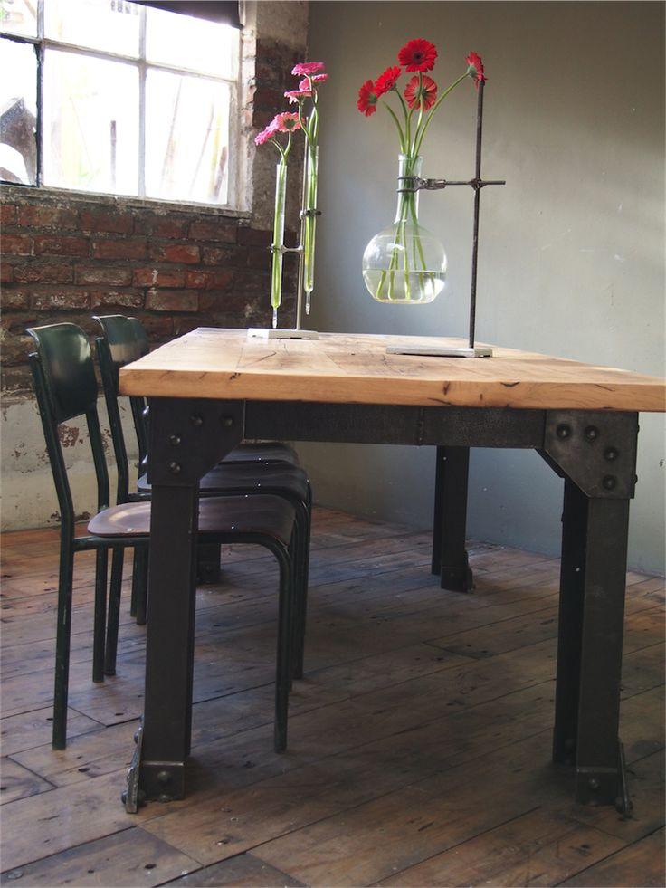 les 25 meilleures id es de la cat gorie pietement table. Black Bedroom Furniture Sets. Home Design Ideas