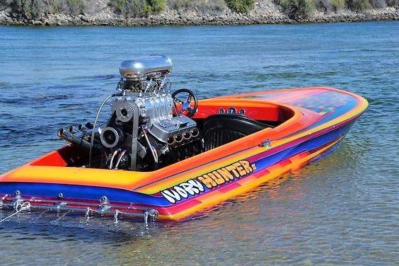 Drag Boat Flat Bottom