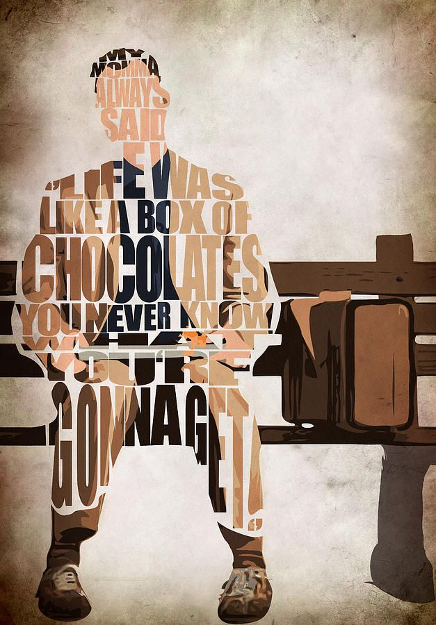 Forrest Gump - Tom Hanks Drawing  - Forrest Gump - Tom Hanks Fine Art Print