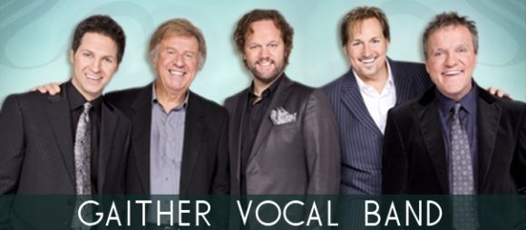Gaither Vocal Band   Gaither Music  These guys can SING!!  Enjoyable concert-- one of the best if not best conert I've ever gone too.