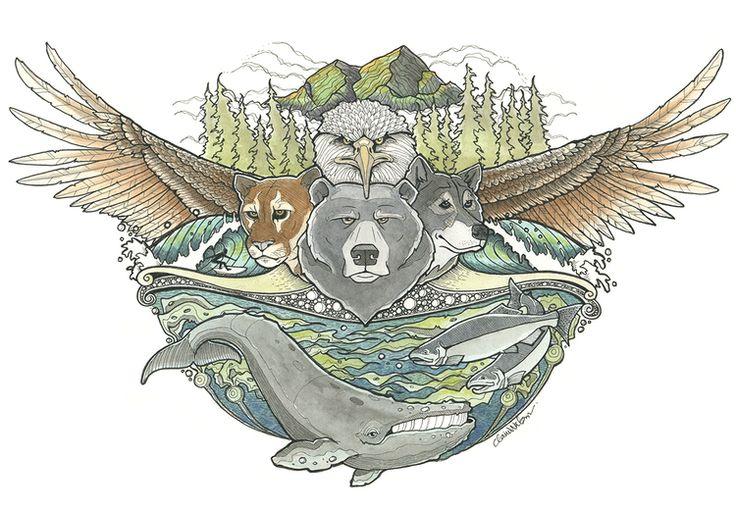 Westcoast Wild — Claire Watson Illustration + Design